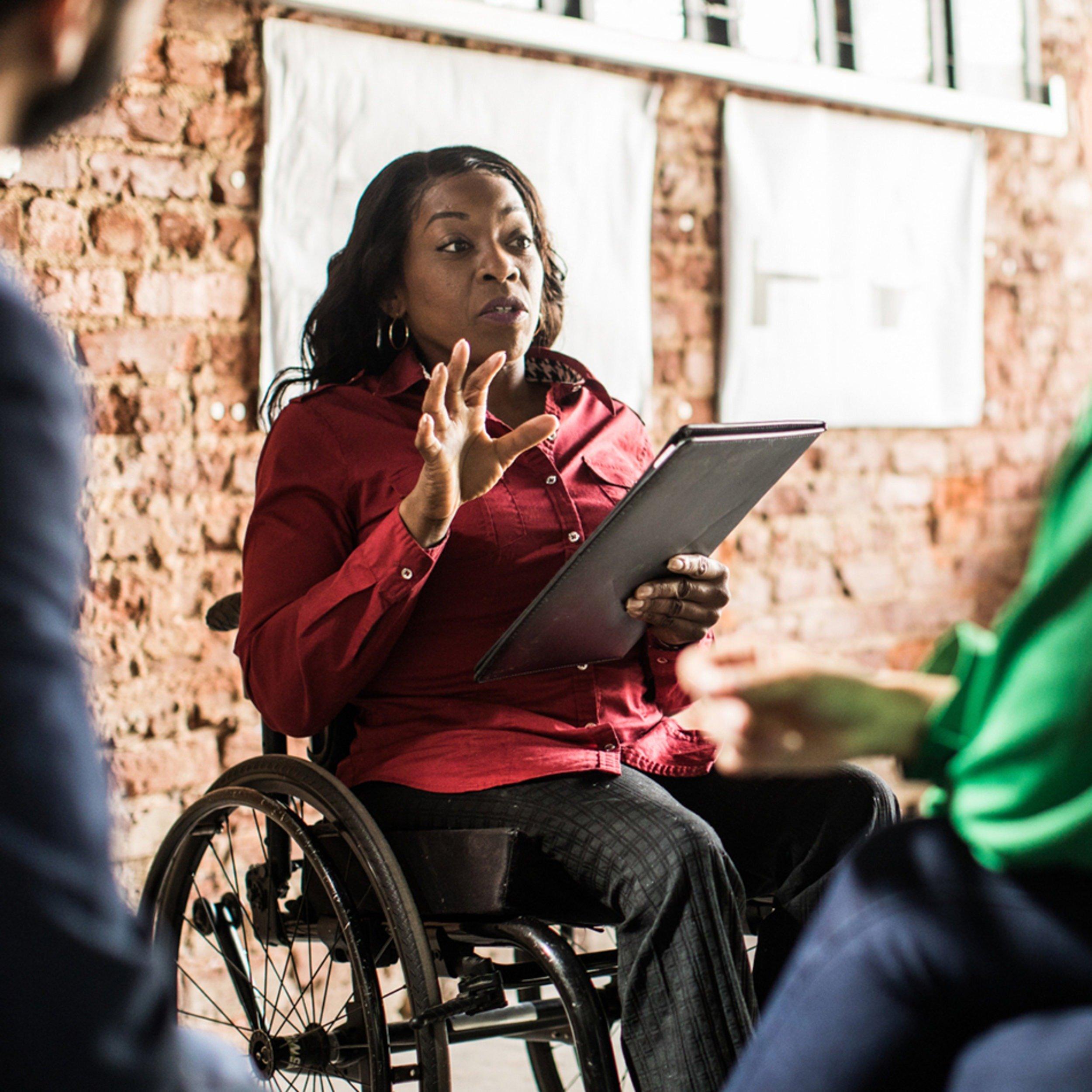 Pelo que lutam pessoas com deficiência?