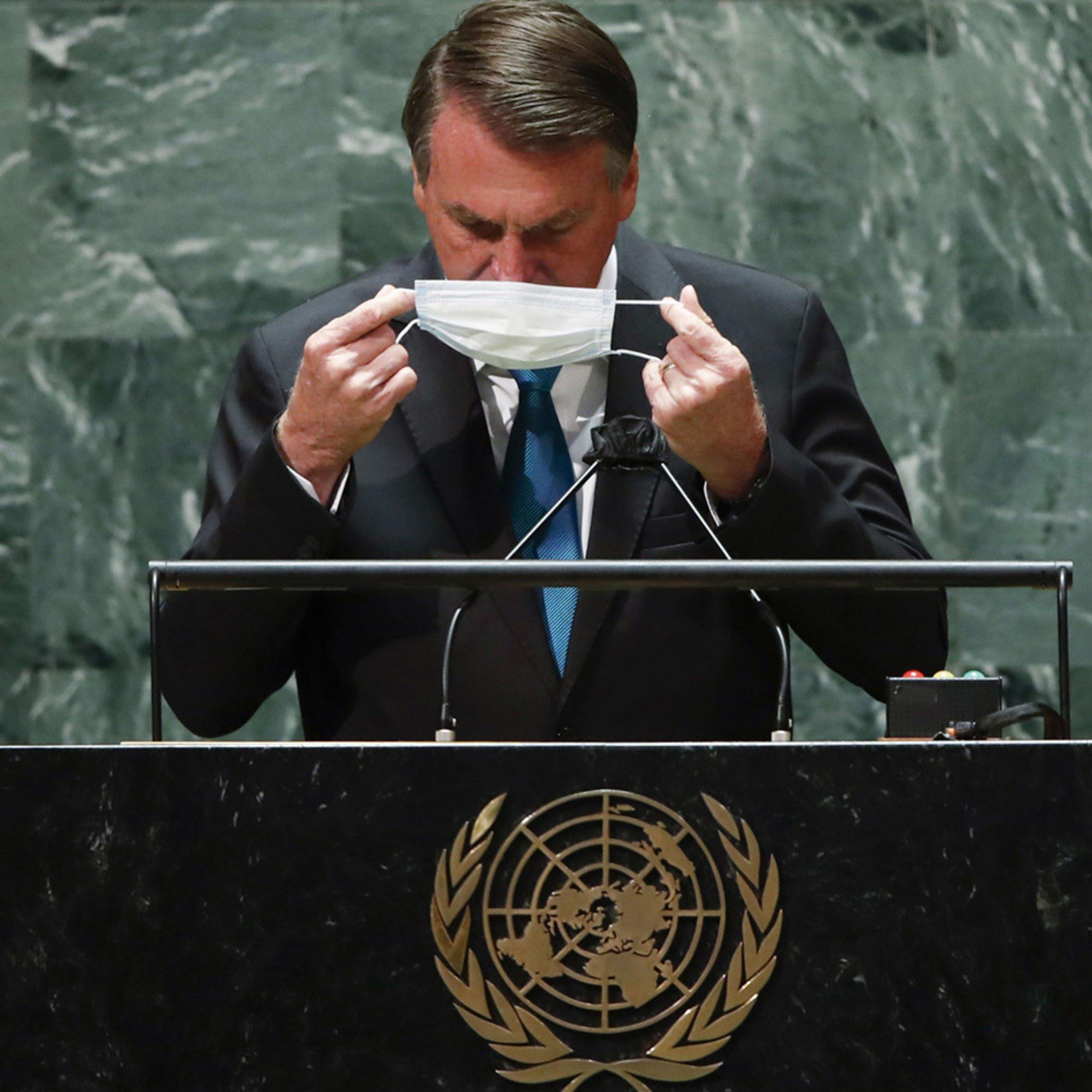7 mentiras contadas por Bolsonaro em discurso na ONU