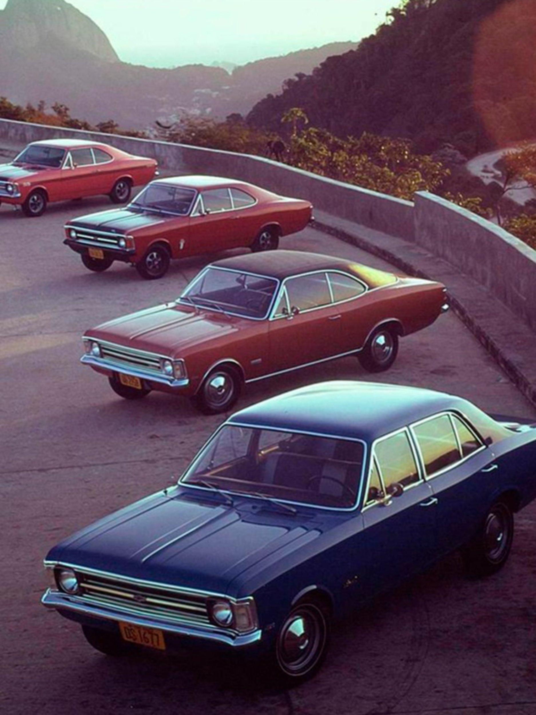 Chevrolet Opala: um fenômeno que durou 24 anos